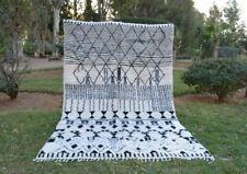"Moroccan rug Beni Ourain 10'2x6'5"", rug handmade 100% wool rug area rugs azilal"