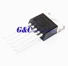 10PCS IC LM2596T-ADJ LM2596 NSC TO-220 Voltage Regulator 3A Adjustable NEW T62