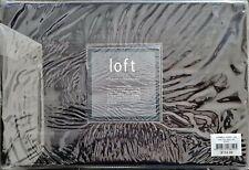 Loft Luxury KING Bed Black Sheet set. 250TC 100% Luxury Cotton. Machine Wash