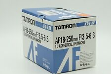 Tamron 18-250mm Di-II A18 Lens For Sony Alpha w/ box  A-Mount     ARL