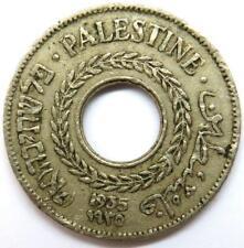 1935 Palestine 5 Mils Coin
