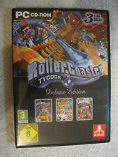 PC CD Rom Spiel RollerCoaster Tycoon 3 -- Deluxe Edition (PC, 2006) Soaked Wild
