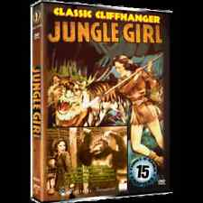 JUNGLE GIRL -15 CHAPTER SERIAL - OFFICIAL STUDIO RELEASE - DVD - NEW!