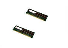 2X INFINEON HYS72V32301GR-7.5-C2 256MB SYNCH 133MHz CL3 PC133R-333-542-B2 RAM