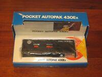 Minolta Autopak 430EX Pocket Vintage Film Camera NEVER USED