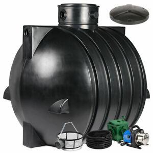Regenwassertank, Zisterne Smart 6000 L Anlage Jet inkl. Zubehör Basic
