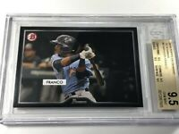 WANDER FRANCO 2019 TOPPS ON DEMAND #4 '55 BOWMAN ROOKIE RC ALL BGS 9.5 SUBGRADES