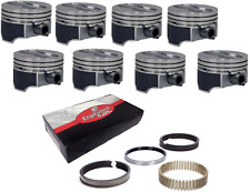 "Moly Rings  4.020/"" bore Chevy 383 style Flat Top Pistons h860cp20"