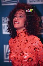 "WHITNEY HOUSTON at Billboard Awards - 4 original 4x6"" color photos - 1993"