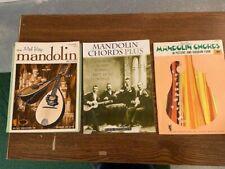 Mel Bay Mandolin Books 3pc Mandolin Methods, Chords Plus, Diagram Form