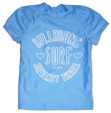 NEW + TAG BILLABONG GIRLS BABY TOTS (0) WET SHIRT RASH VEST RASHIE MELODIE BLUE