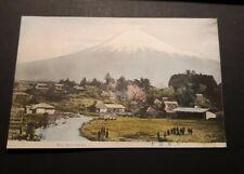 Vintage Japan Postcard - Fuji from Omiya