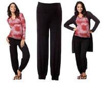 Top Woman Maternity Harem Pants Ali Trousers Pregnancy Clothes Size 8 10 12 14