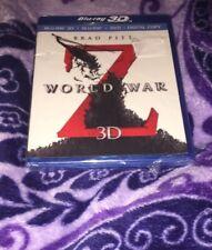 World War Z (3D + Blu-ray + DVD) New