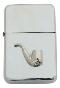 Smokers Pipe Petrol Lighter Windproof with Free Engraving Gift 523