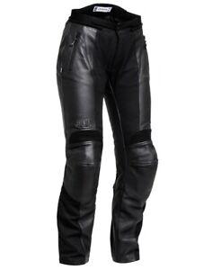 Jofama Femmes Moto Peau de Chèvre Cuir / Textile Pantalon Frej Dryway 674230