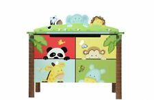 Beech Animal Print Toy Boxes & Chests