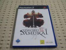 Sword of Samurai para PlayStation 2 ps2 PS 2 * embalaje original *