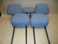 PEUGEOT 307 2004 MK1 SW ESTATE SET OF TEXTILE HEADRESTS