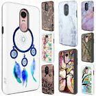 For LG Stylo 4 Frame HYBRID HARD Case Rubber Design Phone Cover Accessory