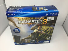 PS3 PlayStation 3 Console Bundle - UNCHARTED 3 Drake's Deception, 250GB w/ BOX