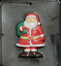 "Santa Claus 5 3/4"" x 3 3/4"" Chocolate Candy Mold Christmas 2151 NEW"