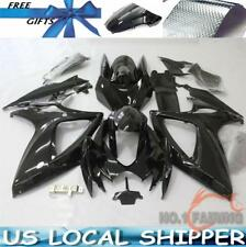 New Fairing For Suzuki GSXR 600 GSXR 750 K6 2006-2007 Gloss Black Injection Mold