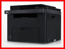 Dell 1355cnw Printer w/ NEW Toners -- Only 3,980 Pages! -- REFURBISHED !