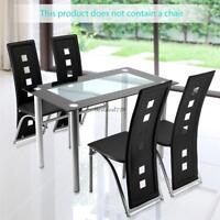 Rectangular Black Counter Height Dining Room Table Set  IN BLACK