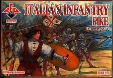 Red Box Models 1/72 ITALIAN INFANTRY WITH PIKE 16th Century Figure Set #3