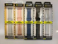 Fortress Silicone Band - Apple Watch Series 4, 3, 2, 1 - 38mm, 40mm, 42mm, 44mm