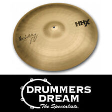 "SABIAN HHX 20"" MANHATTAN Ride CYMBAL Natural Finish RRP $699"