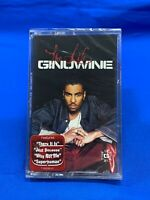 Ginuwine ‎– The Life | Cassette Tape 2001 Sony Music Hype Sticker R&B [SEALED]