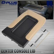 Center Console fit for 1999-07 Chevy Silverado 19127366 Lid Armrest Latch Beige