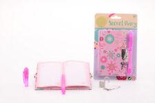 Le ragazze Diario Segreto con Luce UV penna e blocco di scrivere messaggi nascosti diari A6