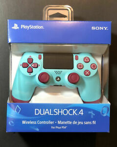 Official Sony PS4 Dualshock 4 Wireless Controller V2 Berry Blue