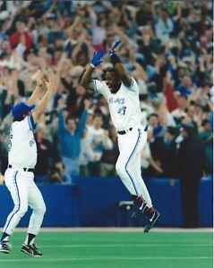 "Joe Carter - 8"" x 10"" Photo - 1993 World Series Walk-Off Home Run - Toronto"