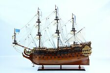 "French ""La Furieux"" Wooden Tall Ship Model 36"""