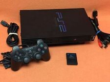 Sony PlayStation Play Station 2 PS2 System Console Dualshock Controller Bundle!