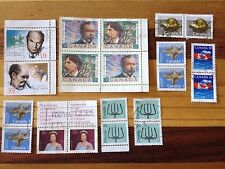 Assorted Stamps from Canada - Joiners - Blocks