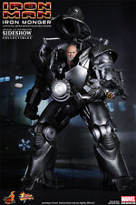 "Iron Monger Jeff Bridges Obadiah Stane Iron Man Marvel MMS164 12"" Figur Hot Toys"
