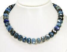 Außergewöhnliche Edelsteinkette aus Sodalith