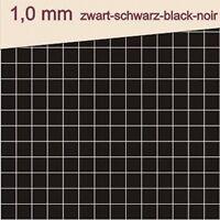 Klebepads 3D doppelseitig klebend 1 mm schwarz 400 Stück Klebepunkte Schaumpads