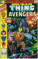 Marvel Two-In-One # 75 (Thing + Avengers) (52 pages) (USA, 1981)
