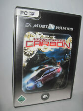 Need For Speed: Carbon - PC CD-Rom - EA Games 2008 - DVD-Box -