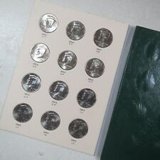 2004-2021 >> KENNEDY HALF DOLLAR COIN COLLECTIONS, Complete 20 Coins P/D MINTS