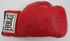 Christy Martin Signed Everlast Boxing Glove JSA R88722