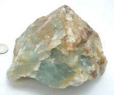 Indigo Blue Lemurian Calcite Natural Crystal Specimen Argentina 1 lb 7.6oz