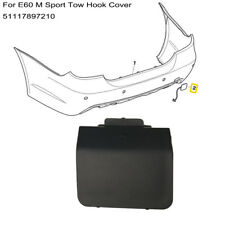 For BMW Genuine E60 5 seires Saloon M Sport Rear Bumper Tow Eye Hook Cover