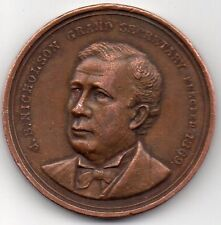 J.B. Nicholson - Vintage 1895 Coin Token - Odd Fellows Temple, Philadelphia